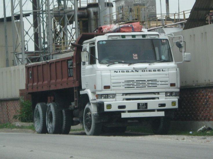 Nissan Diesel Resona tipper in Malaysia