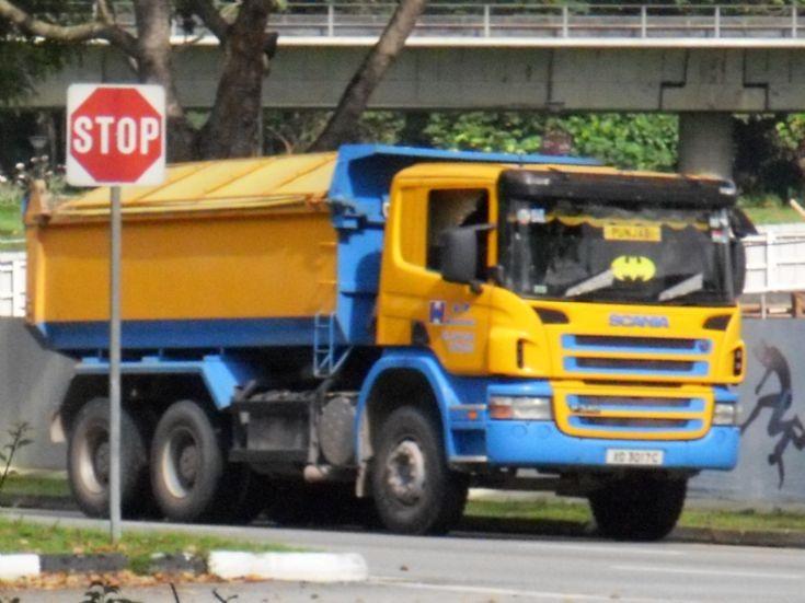Hua Tiong (Asia) Scania P340 Dump Truck