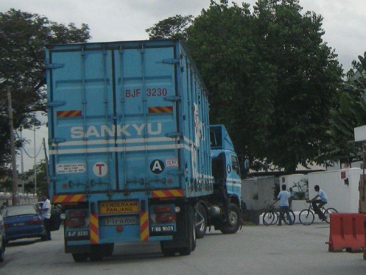 Hino 500 truck in Malaysia