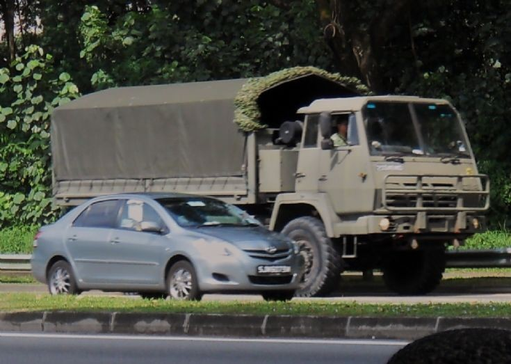 Singapore Armed Forces (SAF) Steyr 3 Tonner  Military Truck