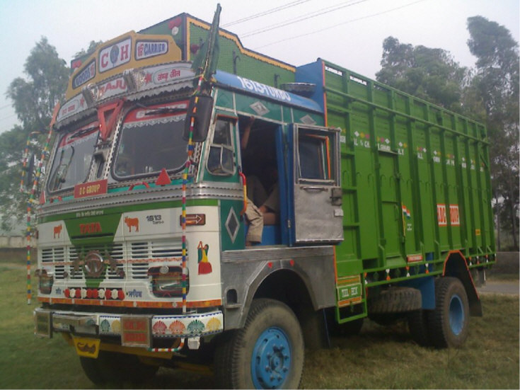 Tata trucks of Punjab