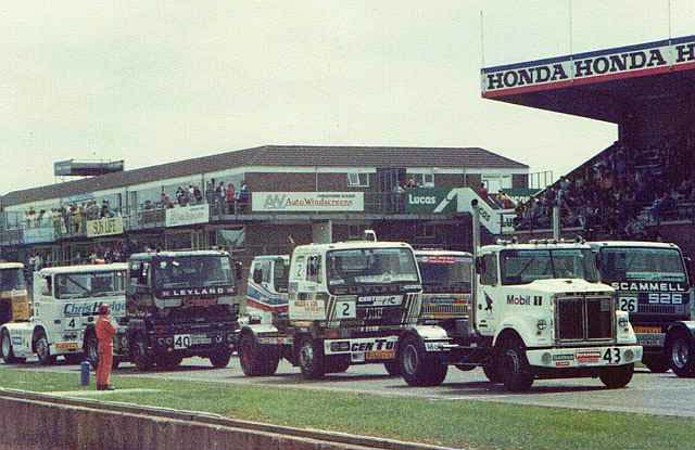 Truck Racing at Donnington - White Road Boss