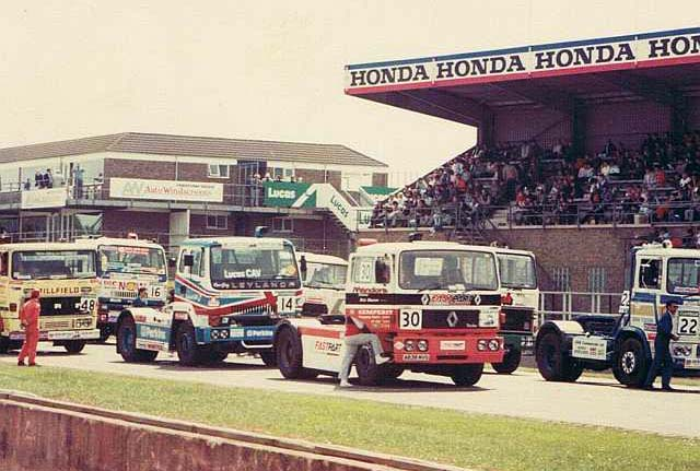 Donnington Truck Racing - Renault, Leyland, etc