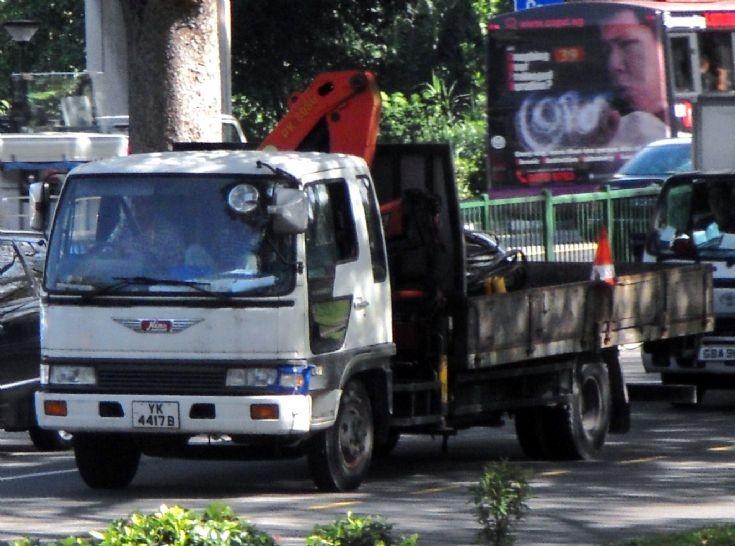 Hino Ranger FE Series Cargo Truck.