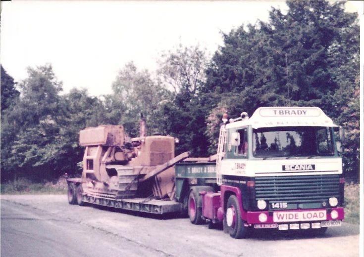 Scania 141 T Brady & Sons low loader