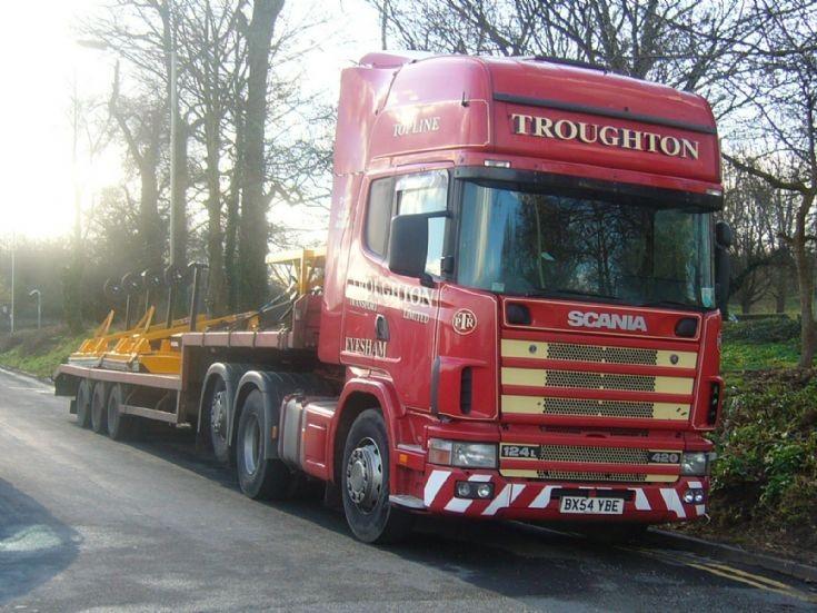 Scania 124L 420    BX54 YBE