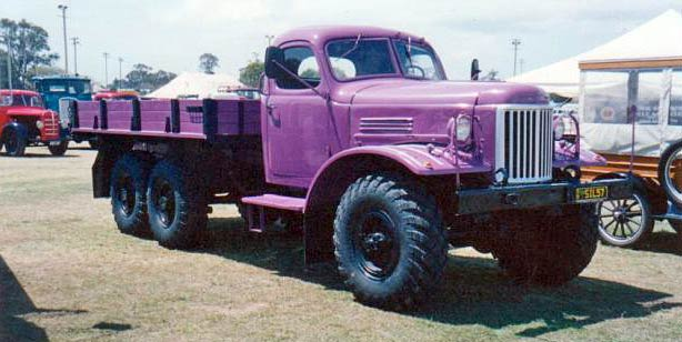 1955 Russian Zil 6x6 Ex-army Truck