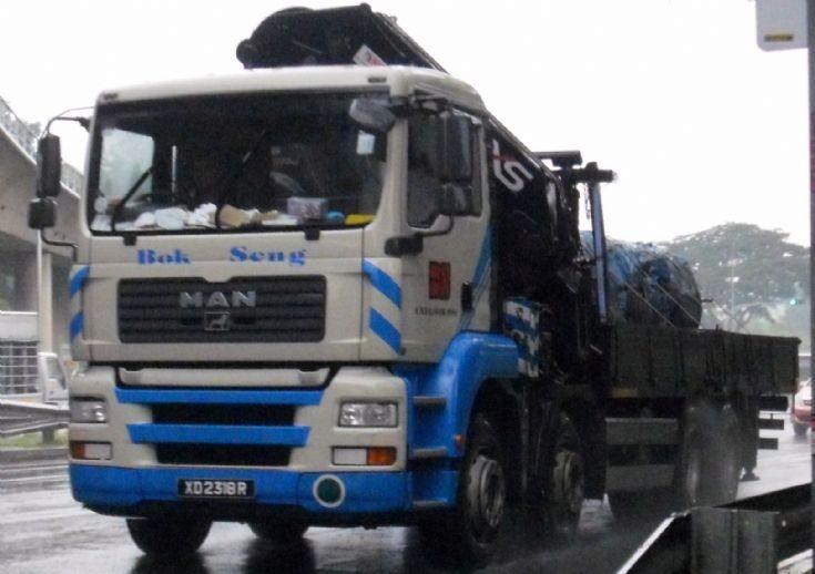 Bok Seng Logistics Pte Ltd  MAN-TGA 4-Axle Cargo Truck