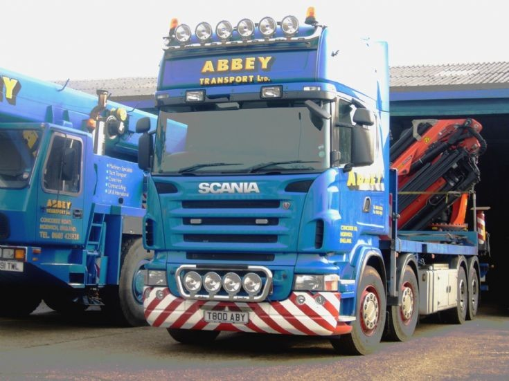 Scania  Topline     T800 ABY