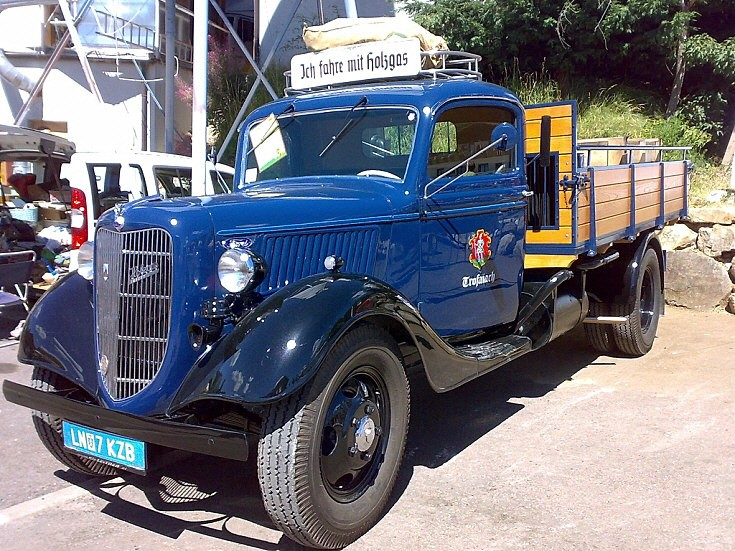 Restored Ford truck