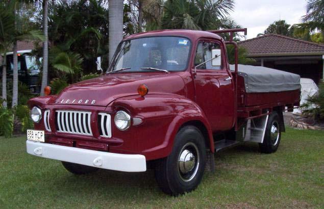 1960 Beford JI - fully restored