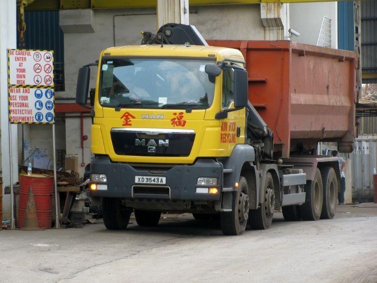 MAN TGS 400 (XD 3543A) Kim Hock Recycling