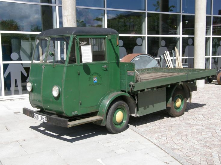 ASEA EBV 10/11 Electric Truck