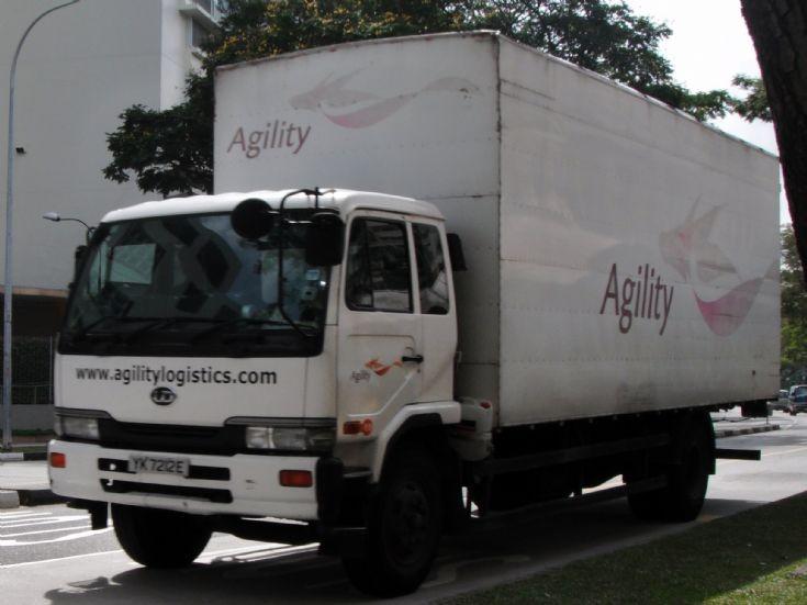 Agility Logistics Pte Ltd Nissan Diesel UD Condor PK251 Wing Truck