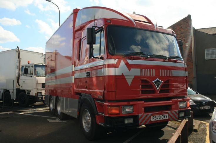 Foden Showman's truck
