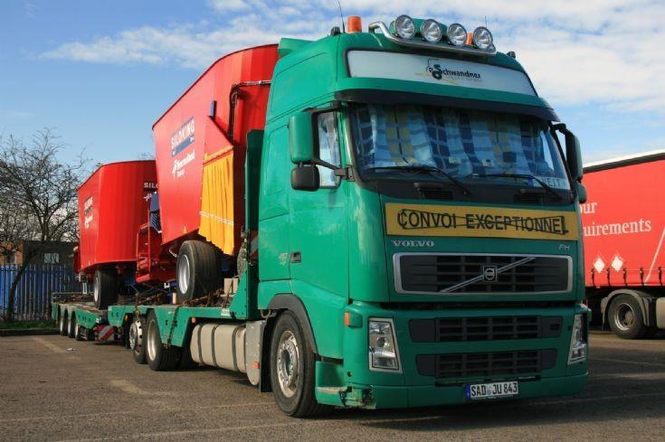 Volvo FH 480 - Convoi Exceptionnel