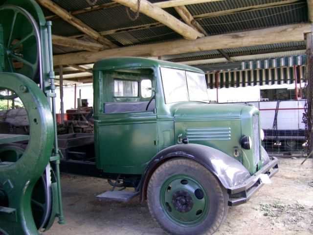 1930s Bedford W Model Timber Truck