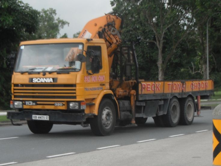 Peck Tiong Choon Pte Ltd Scania 113H 320 Cargo Truck