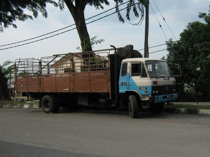 Nissan Diesel CW cargo truck in Malaysia