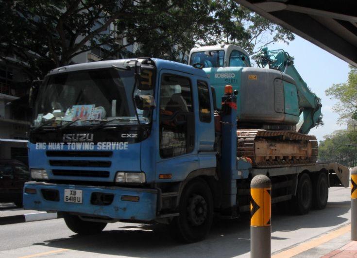 Eng Huat Towing Service Isuzu Giga CXZ Self Loader Truck