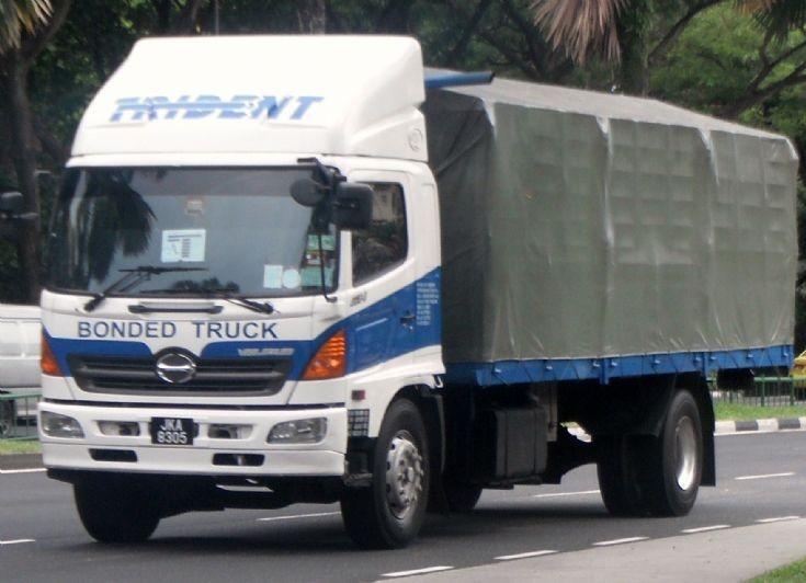 Bonded Truck Hino Ranger 500 GH Cargo Truck