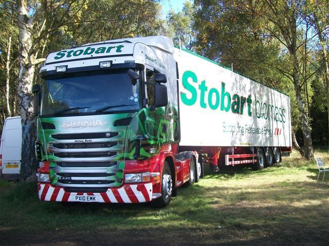 R440 Scania - Stobart Biomass
