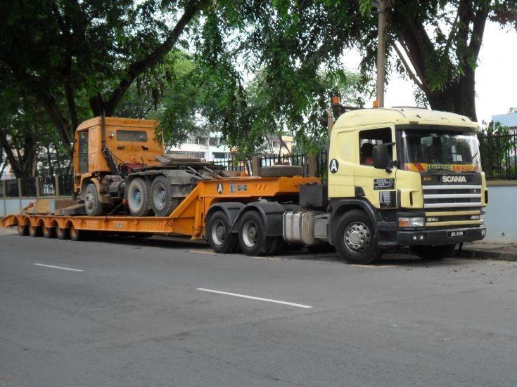 Scania 124 G Malaysia