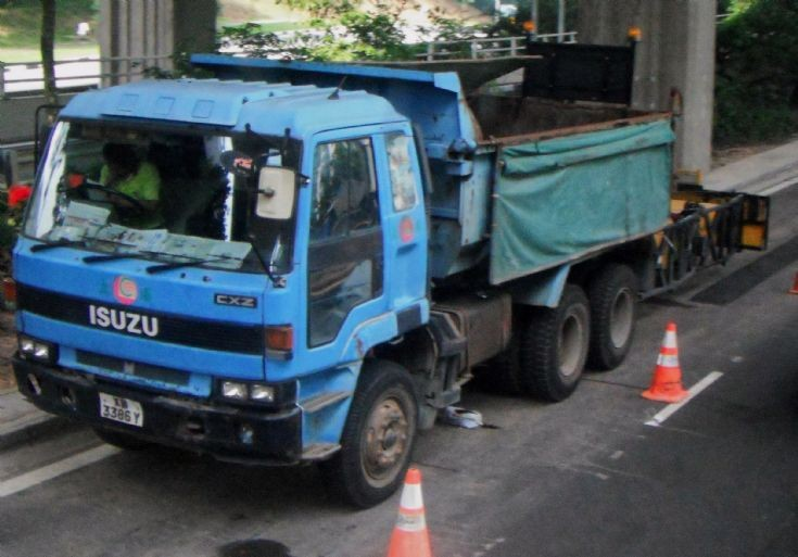 Ley Choon Constructions and Engineering Pte Ltd Isuzu Giga CXZ 71JD Dump Truck