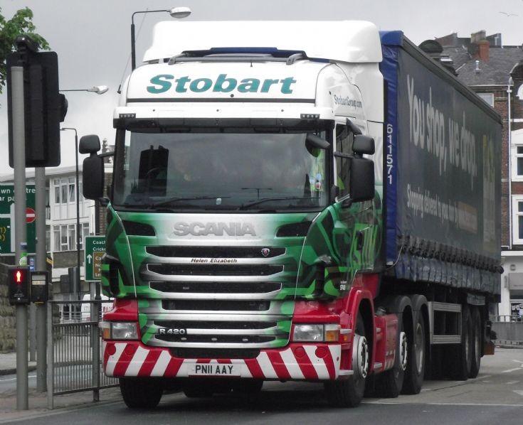 Stobart Scania R420