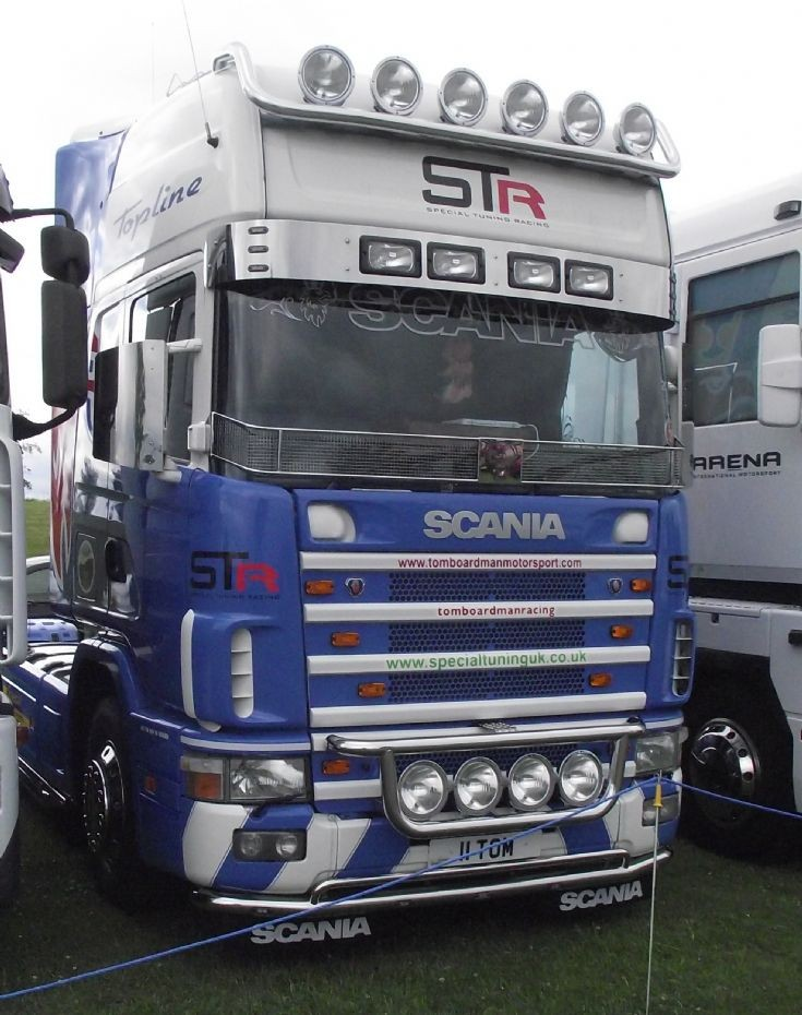 Scania R series Tom Boardmans truck