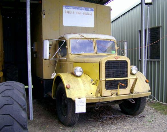 1948 Austin K8 Mobile Generating set