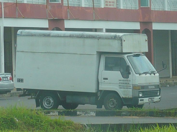 Toyota Dyna delivery truck