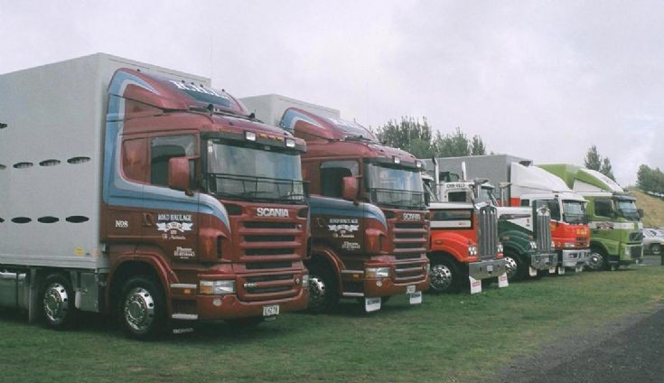 Scania / Kenworth Fuso and Volvo
