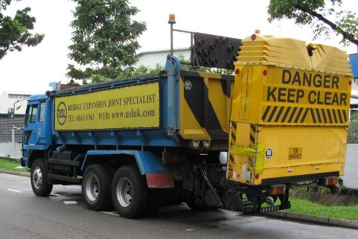 Truck Mounted Crash Attenuator