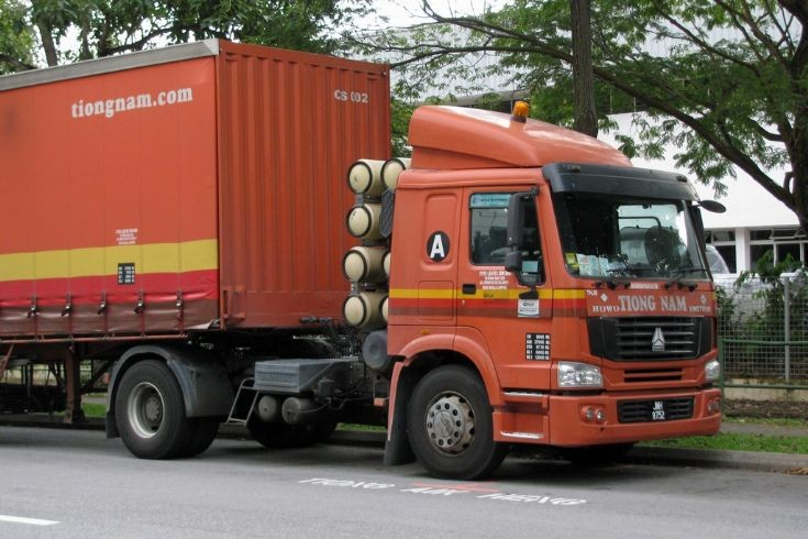 Picture of Sinotruk Howo truck (JMH 8752) Tiong Nam