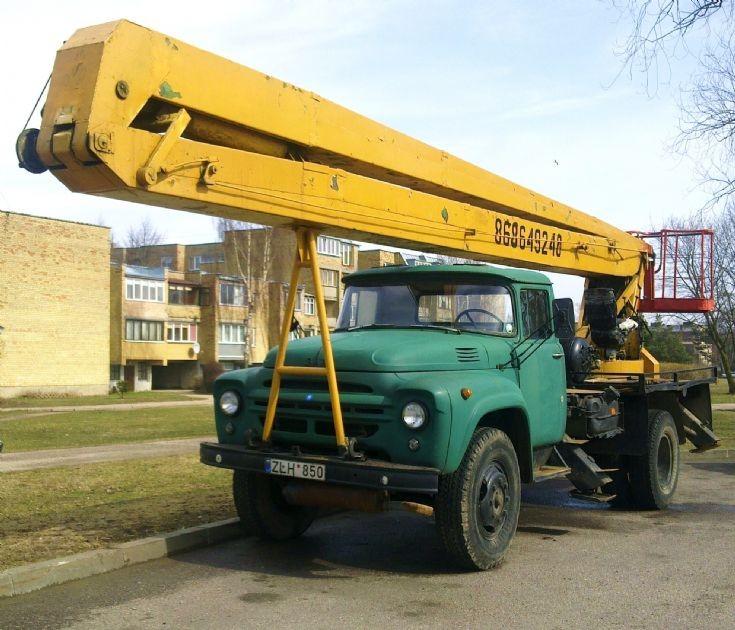 Old Russian ZIL truck