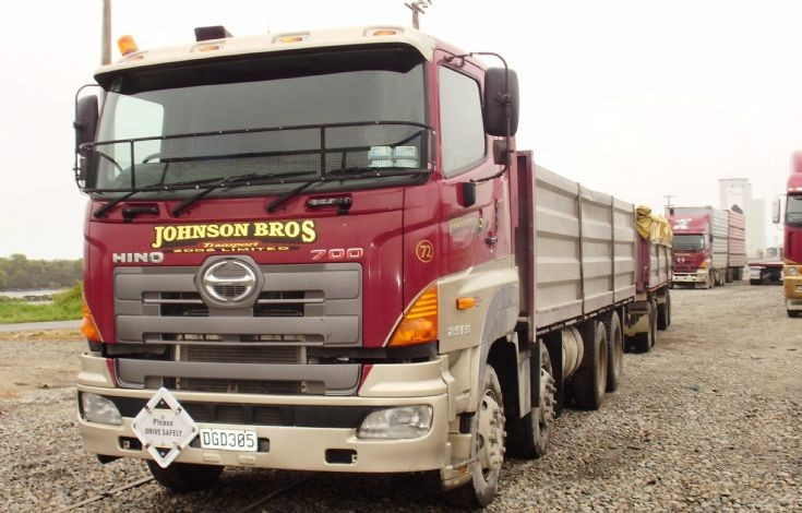 Johnson Bros. Hino truck