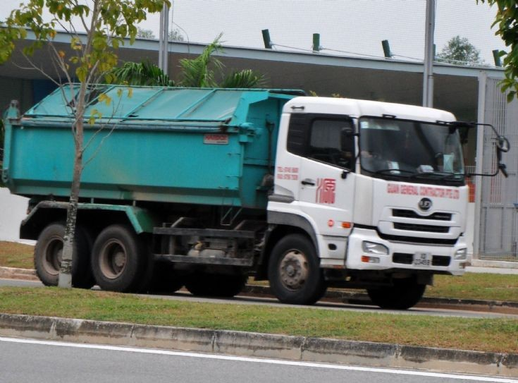 Guan General Contractor  Pte Ltd Nissan Diesel UD Quon UD390WM Dump Truck