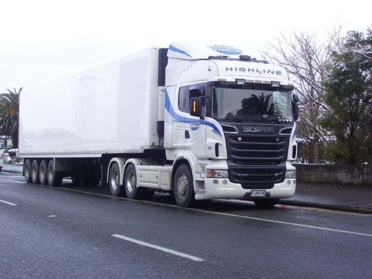 WEATHERELL TRANSPORT SCANIA R730